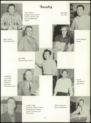 Page 11, 1958 Edition, Dodge High School - Sou Wester Yearbook (Dodge City, KS) online yearbook collection