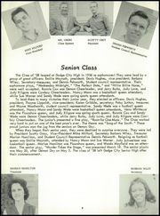Page 14, 1958 Edition, Dodge High School - Sou Wester Yearbook (Dodge City, KS) online yearbook collection