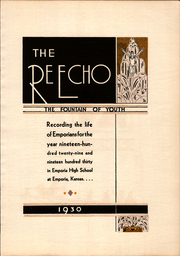 Page 9, 1930 Edition, Emporia High School - Re Echo Yearbook (Emporia, KS) online yearbook collection