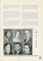 Page 15, 1934 Edition, Emporia High School - Re Echo Yearbook (Emporia, KS) online yearbook collection