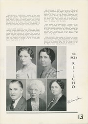 Page 17, 1934 Edition, Emporia High School - Re Echo Yearbook (Emporia, KS) online yearbook collection