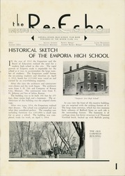 Page 5, 1934 Edition, Emporia High School - Re Echo Yearbook (Emporia, KS) online yearbook collection