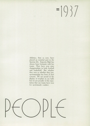 Page 15, 1937 Edition, Emporia High School - Re Echo Yearbook (Emporia, KS) online yearbook collection