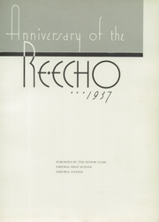 Page 7, 1937 Edition, Emporia High School - Re Echo Yearbook (Emporia, KS) online yearbook collection