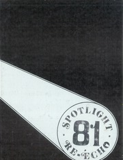 1981 Edition, Emporia High School - Re Echo Yearbook (Emporia, KS)