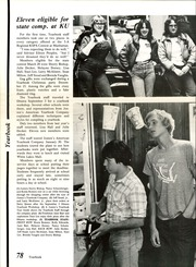 Page 82, 1981 Edition, Emporia High School - Re Echo Yearbook (Emporia, KS) online yearbook collection