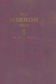 Page 1, 1911 Edition, Arkansas City High School - Mirror Yearbook (Arkansas City, KS) online yearbook collection