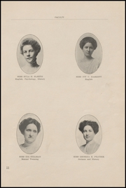 Page 15, 1911 Edition, Arkansas City High School - Mirror Yearbook (Arkansas City, KS) online yearbook collection