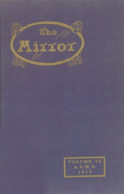 Arkansas City High School - Mirror Yearbook (Arkansas City, KS) online yearbook collection, 1914 Edition, Page 1