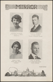 Page 15, 1918 Edition, Arkansas City High School - Mirror Yearbook (Arkansas City, KS) online yearbook collection