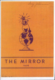 Page 1, 1936 Edition, Arkansas City High School - Mirror Yearbook (Arkansas City, KS) online yearbook collection