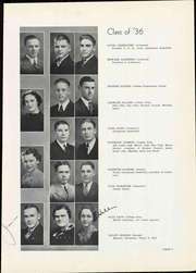 Page 17, 1936 Edition, Arkansas City High School - Mirror Yearbook (Arkansas City, KS) online yearbook collection