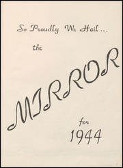 Page 7, 1944 Edition, Arkansas City High School - Mirror Yearbook (Arkansas City, KS) online yearbook collection