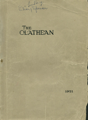 Page 1, 1921 Edition, Olathe High School - Eagle Yearbook (Olathe, KS) online yearbook collection