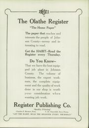 Page 101, 1921 Edition, Olathe High School - Eagle Yearbook (Olathe, KS) online yearbook collection