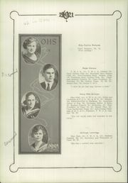 Page 16, 1921 Edition, Olathe High School - Eagle Yearbook (Olathe, KS) online yearbook collection