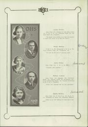 Page 17, 1921 Edition, Olathe High School - Eagle Yearbook (Olathe, KS) online yearbook collection
