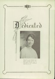 Page 7, 1921 Edition, Olathe High School - Eagle Yearbook (Olathe, KS) online yearbook collection