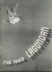 1940 Edition, Winfield High School - Lagondan Yearbook (Winfield, KS)