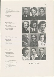 Page 11, 1945 Edition, Winfield High School - Lagondan Yearbook (Winfield, KS) online yearbook collection