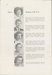 Page 12, 1945 Edition, Winfield High School - Lagondan Yearbook (Winfield, KS) online yearbook collection