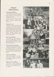 Page 13, 1945 Edition, Winfield High School - Lagondan Yearbook (Winfield, KS) online yearbook collection