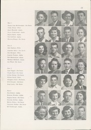 Page 15, 1945 Edition, Winfield High School - Lagondan Yearbook (Winfield, KS) online yearbook collection