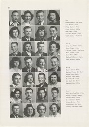 Page 16, 1945 Edition, Winfield High School - Lagondan Yearbook (Winfield, KS) online yearbook collection