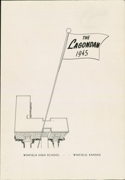 Page 3, 1945 Edition, Winfield High School - Lagondan Yearbook (Winfield, KS) online yearbook collection