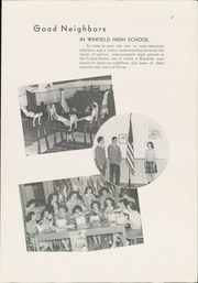 Page 5, 1945 Edition, Winfield High School - Lagondan Yearbook (Winfield, KS) online yearbook collection