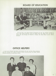 Page 9, 1956 Edition, Winfield High School - Lagondan Yearbook (Winfield, KS) online yearbook collection
