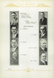 Page 12, 1929 Edition, Chanute High School - Elms Yearbook (Chanute, KS) online yearbook collection