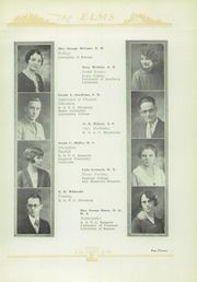 Page 15, 1929 Edition, Chanute High School - Elms Yearbook (Chanute, KS) online yearbook collection