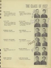 Page 7, 1937 Edition, Chanute High School - Elms Yearbook (Chanute, KS) online yearbook collection