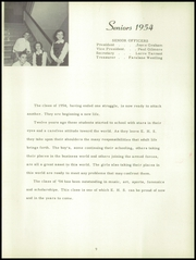 Page 13, 1954 Edition, El Dorado High School - El Doradoan Yearbook (El Dorado, KS) online yearbook collection