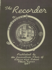 Page 5, 1947 Edition, Ottawa High School - Recorder Yearbook (Ottawa, KS) online yearbook collection