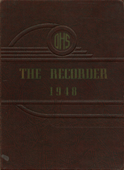 1948 Edition, Ottawa High School - Recorder Yearbook (Ottawa, KS)