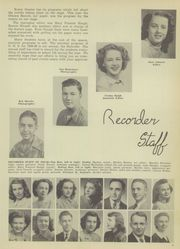 Page 15, 1949 Edition, Ottawa High School - Recorder Yearbook (Ottawa, KS) online yearbook collection
