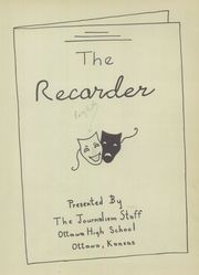 Page 7, 1949 Edition, Ottawa High School - Recorder Yearbook (Ottawa, KS) online yearbook collection