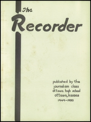 Page 7, 1950 Edition, Ottawa High School - Recorder Yearbook (Ottawa, KS) online yearbook collection