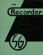 1956 Edition, Ottawa High School - Recorder Yearbook (Ottawa, KS)