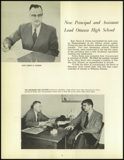 Page 12, 1957 Edition, Ottawa High School - Recorder Yearbook (Ottawa, KS) online yearbook collection