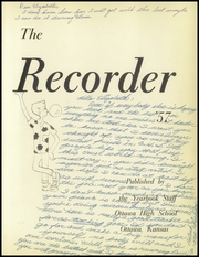 Page 5, 1957 Edition, Ottawa High School - Recorder Yearbook (Ottawa, KS) online yearbook collection