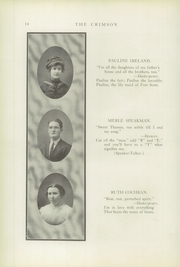 Page 16, 1913 Edition, Fort Scott High School - Yearbook (Fort Scott, KS) online yearbook collection