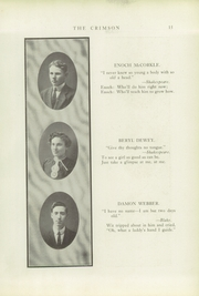 Page 17, 1913 Edition, Fort Scott High School - Yearbook (Fort Scott, KS) online yearbook collection