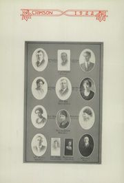 Page 14, 1922 Edition, Fort Scott High School - Yearbook (Fort Scott, KS) online yearbook collection