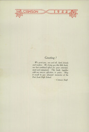 Page 4, 1922 Edition, Fort Scott High School - Yearbook (Fort Scott, KS) online yearbook collection