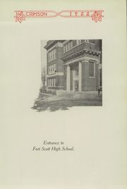 Page 9, 1922 Edition, Fort Scott High School - Yearbook (Fort Scott, KS) online yearbook collection
