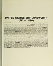Page 7, 1983 Edition, Ainsworth (FF 1090) - Naval Cruise Book online yearbook collection