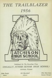 Page 3, 1956 Edition, Atchison High School - Trailblazer Yearbook (Atchison, KS) online yearbook collection